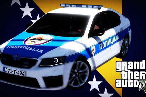 Škoda Octavia - Srpska Police (Policija RS)