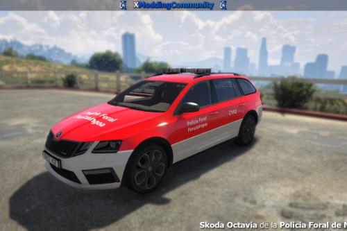 Skoda Octavia vRS Estate - Policia Foral de Navarra [ELS]