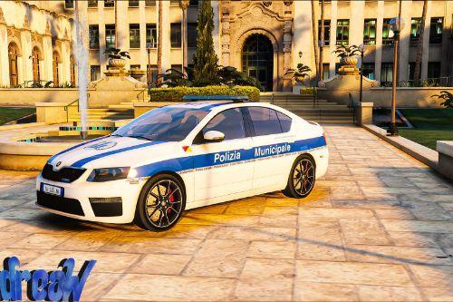 Skoda Octavia VRS - Polizia Municipale [Skin]