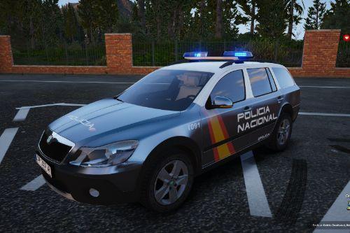 Skoda Octavia Scout Policia Nacional/CNP of Spain/España[FiveM-Replace]