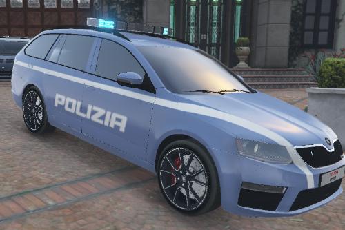 SKODA RS Polizia Stradale Italiana