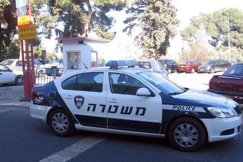 Bab4b6 israel police squad car