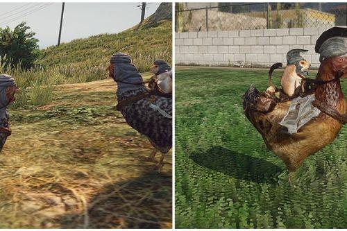 Skyrim Chicken Rider (Mods)