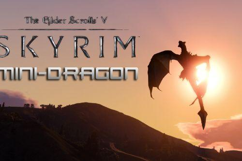 Skyrim Mini-Dragon