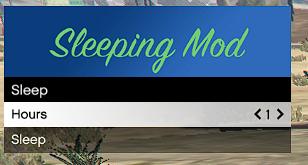 Sleeping Mod