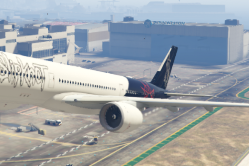 Slipknot livery for A350