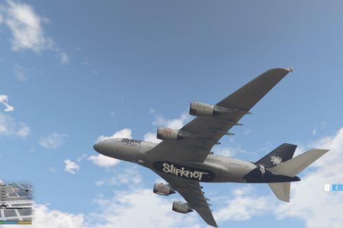 Slipknot Livery For A380