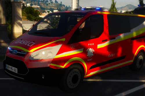 Slovenian Fire Department 2017 ford transit PGD Babici GVM-1 [SKIN]