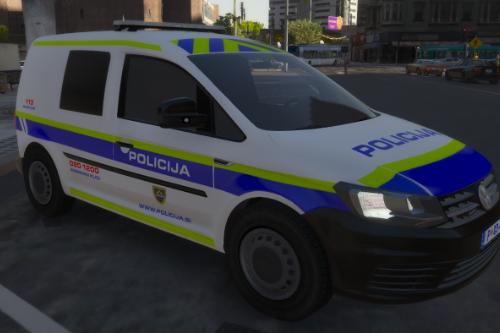 Slovenian K9 police volkswagen caddy [Reskin][ELS]