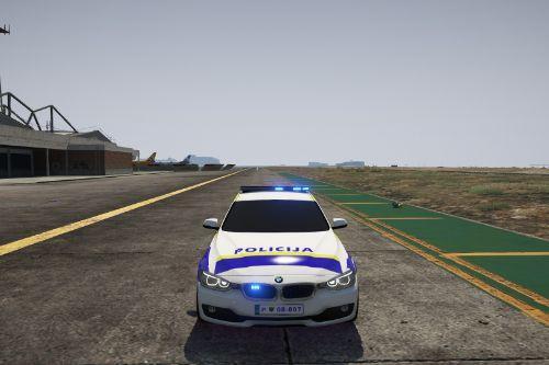 SLOVENIAN POLICE VEHICLE MODEL BMW NON-ELS