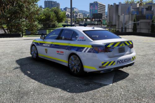Slovenska policija - Lexus GS 350 [ Police Template ]
