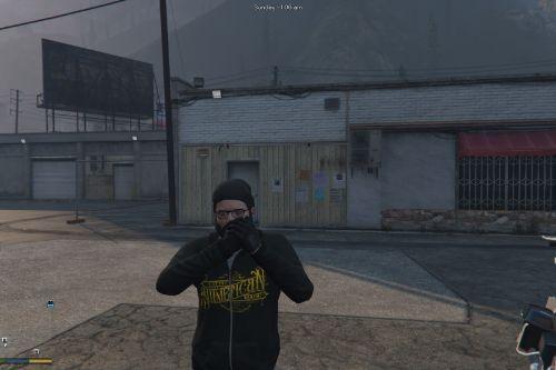 Slumerican hoodie (Michael)