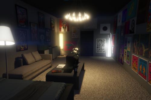 Small Designer Apartment Interior