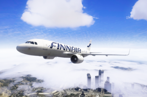 Small livery pack for A320neo