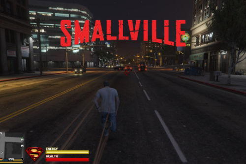 Smallville Superspeed sound effect replace for Superman V2 mod