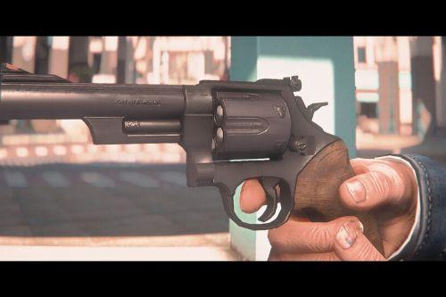 Smith & Wesson M19 (Inspired by Roger Murtaugh's pistol)  [Animated]