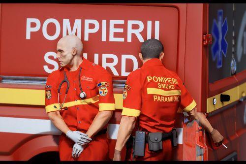 Smurd Romanian Paramedic Ped Retexture
