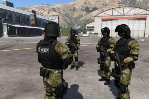 СОБР (Special Fast Response Detachment) Russia