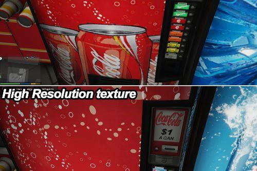 Soda Vending Machines, Coca, Pepsi & more