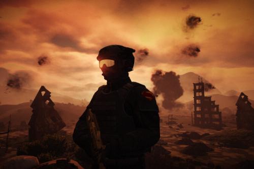 Soldier Knightmare BVS [Add-On Ped]
