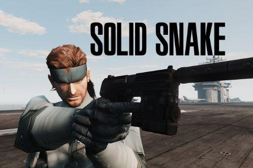 Solid Snake [Add-On Ped]