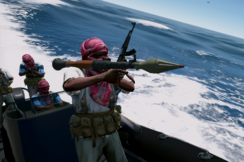 Somali pirates Medal of Honor: Warfighter [Add on]