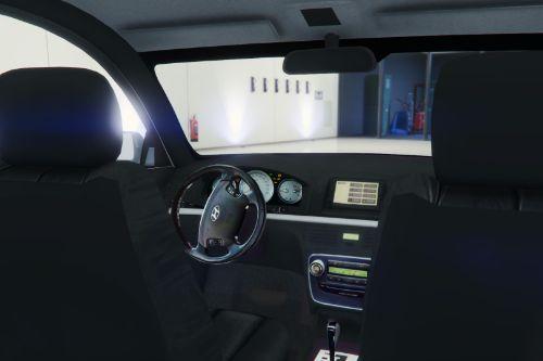 Hyundai Sonata Black Interior