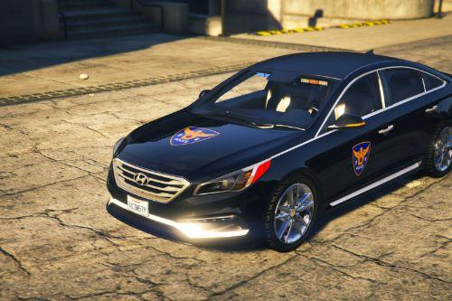 SONATA Korean unmarked police