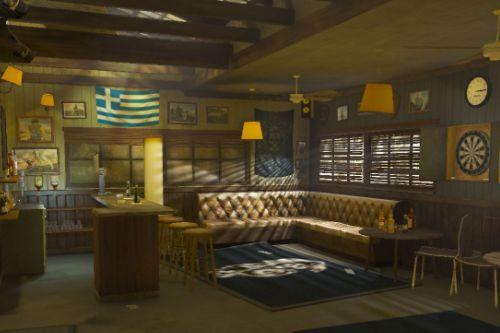 Greek Sons Of Anarchy Clubhouse Singleplayer And FiveM 3.0