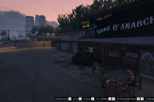 Sons Of Anarchy Clubhouse Singleplayer And FiveM