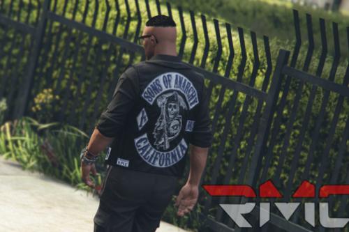 Sons of Anarchy MC vest [ President and Member vest ] MP Fivem/SP