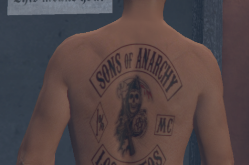 Sons of Anarchy tattoo for MP Male/Female