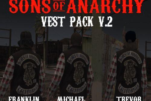 Sons Of Anarchy Vest Pack
