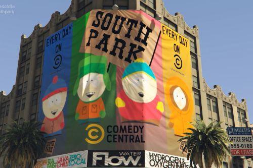 South Park Sign on Pacific Standard Bank [SP / FiveM]