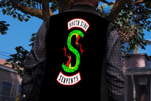 South Side Serpents jacket (Riverdale) for Franklin