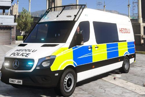 South Wales Police Mercedes Sprinter