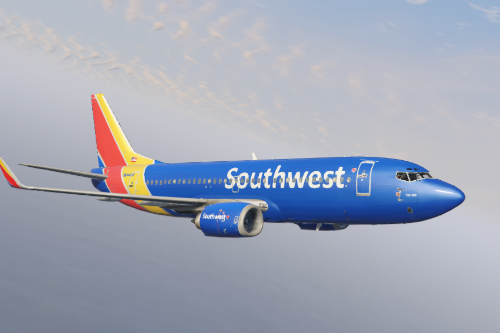Southwest 737 livery pack