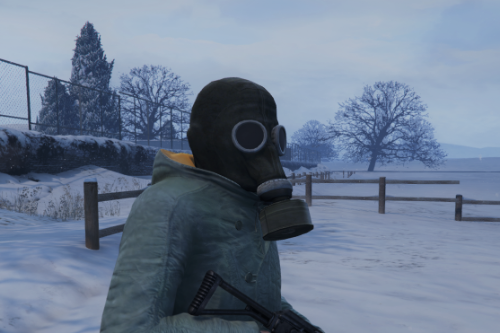 Soviet GP-5 Gas Mask