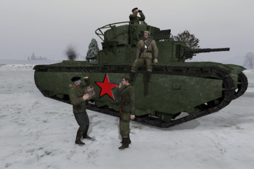 Soviet troops from Sniper Elite [Add-on]