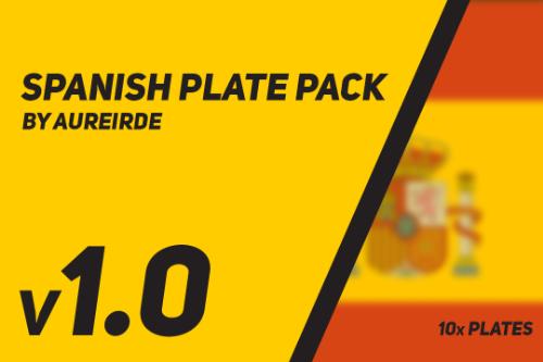 Spanish Plate Pack