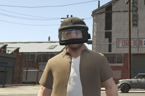 Spatsnez Helmet for protagonist  from pubg