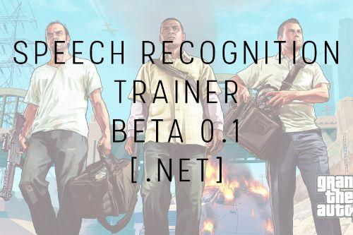 GTA V Speech Recognition Trainer [.NET]