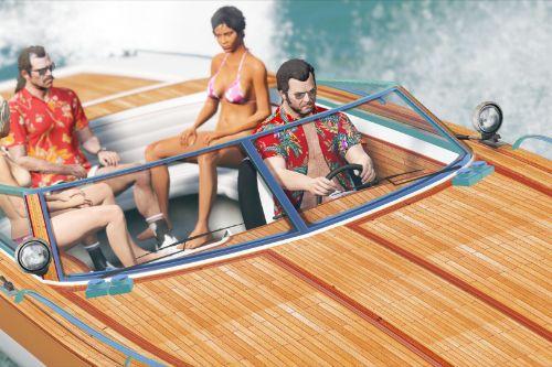 Speeder Boat HD retexture