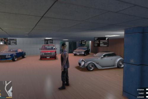 SPG | Franklin's Mega Garage First Floor as SinglePlayerGarage