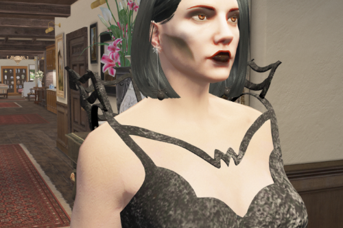 Spider Earring for MP - HalloweenSpecial