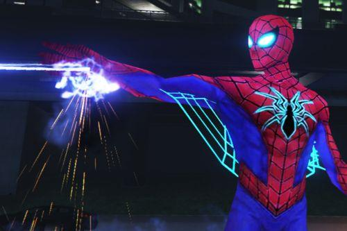 Spider-Man All New All Different (Emissive eyes & Web wing)