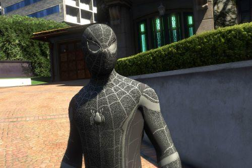 Spider-man homecoming symbiote suit