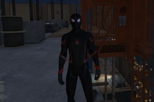 Spider-Man MCU Miles Moralex Retexture