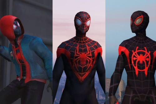 Miles Morales (Spider man: Into the Spider-Verse & MFF) [Add-On Ped]
