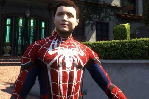 spider-man unmasked re-texture